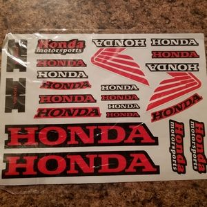 Honda Sticker Sheet